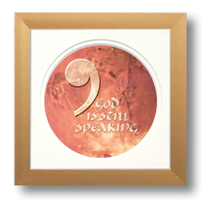 UCC, Comma, Calligraphy Art Plaques, Inspirational Gifts