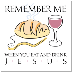 Remember Me, Jesus, Calligraphy Art Plaques, Inspirational Gifts