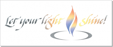 UUA, Flaming Chalice, Calligraphy Art Plaques, Inspirational Gifts