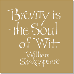 william shakespeare calligraphy art plaques inspirational gifts brevity william shakespeare