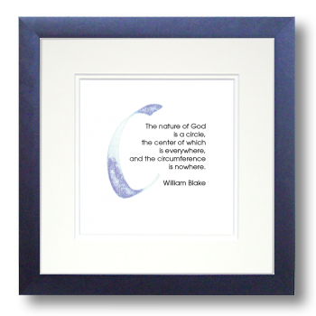 C, William Blake, Calligraphy Art Plaques, Inspirational Gifts