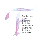 F, Forgiveness, Calligraphy Art Plaques, Inspirational Gifts