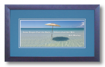 Bob Marley 3 of 3, Some People Feel The Rain, Calligraphy Art Plaques, Inspirational Gifts