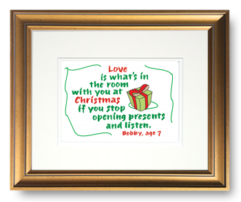 Christmas, Calligraphy Art Plaques, Inspirational Gifts