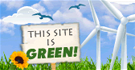 This site is green!